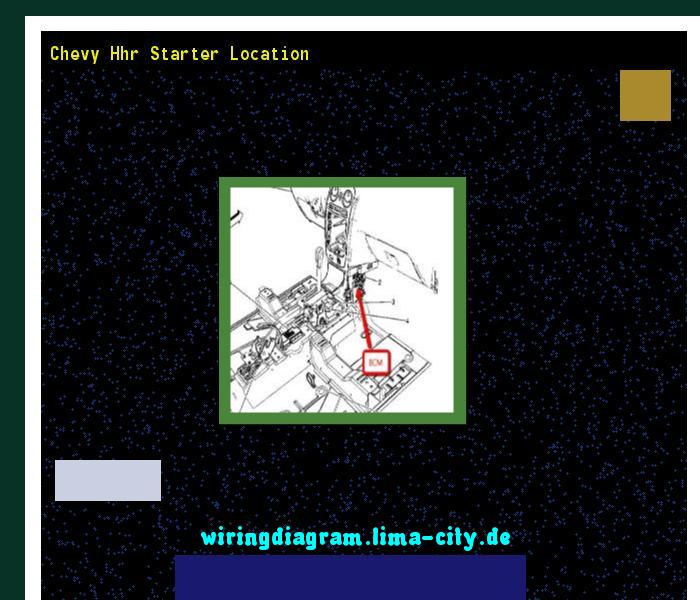 Excellent Chevy Hhr Starter Location Wiring Diagram 175538 Amazing Wiring Wiring Cloud Xempagosophoxytasticioscodnessplanboapumohammedshrineorg