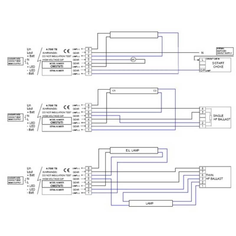 Bodine B100 Emergency Ballast Wiring Diagram - Wiring Diagram