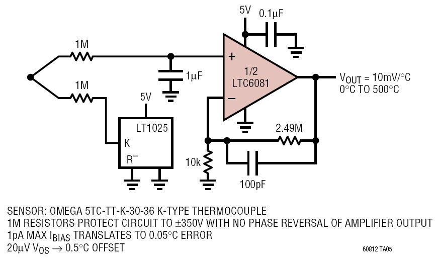 k type thermocouple circuit diagram rx 4924  thermocouple wiring schematic  rx 4924  thermocouple wiring schematic