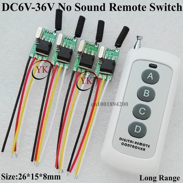 Awe Inspiring Truck Van Car Bus Light Led Strip Light Micro Remote Switch 6V 36V Wiring Cloud Grayisramohammedshrineorg