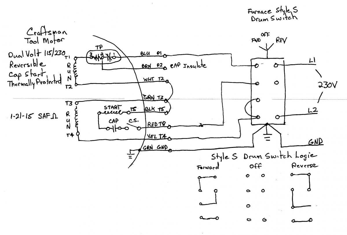 ajax 5 hp electric motor wire diagram mo 3842  dual voltage motor wiring diagrams capacitor motor  dual voltage motor wiring diagrams