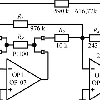 Excellent Pt100 Compensation Circuit With Additional Potentiometers Wiring Cloud Picalendutblikvittorg