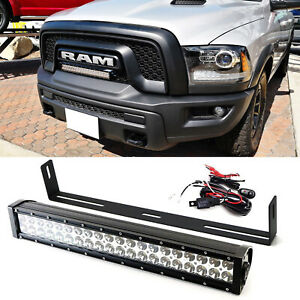Amazing 20 120W Led Light Bar W Front Grill Mounting Bracket Wire For Wiring Cloud Picalendutblikvittorg