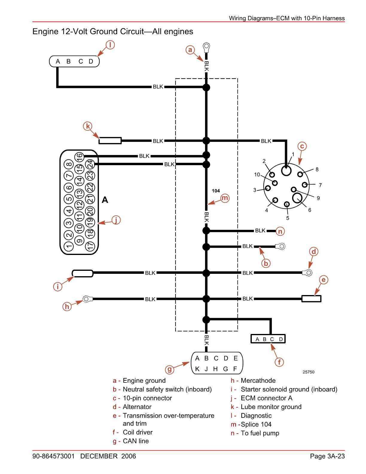 Mercruiser 5 0 Fuel Pump Wiring Diagram - Wiring Diagram