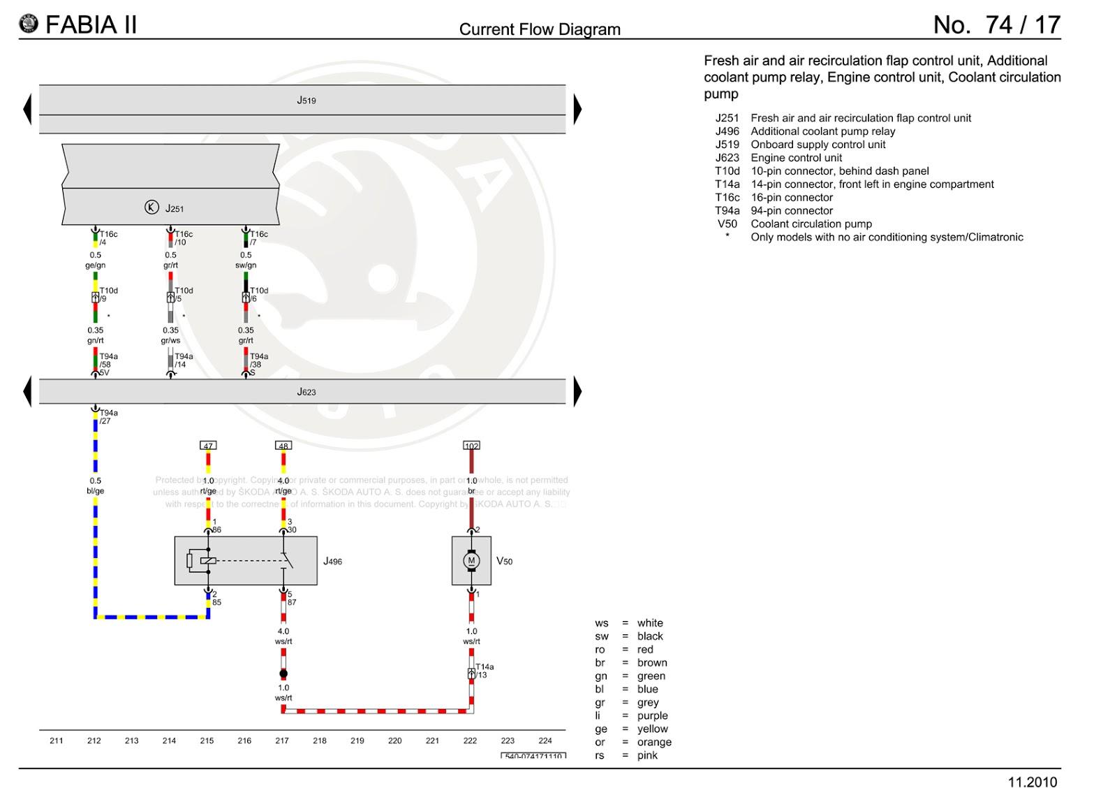HR_6428] Skoda Fabia Wiper Wiring Diagram Wiring DiagramWww Mohammedshrine Librar Wiring 101