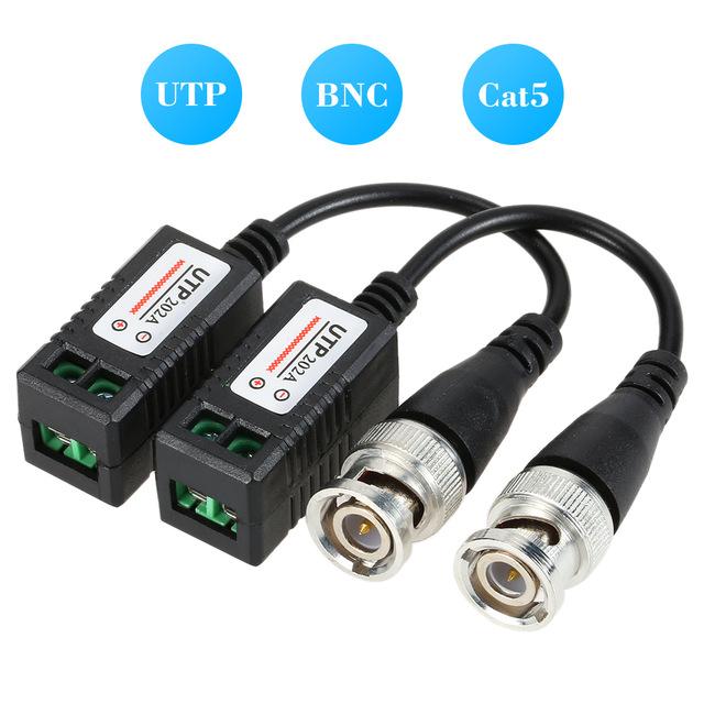 zr0202 description cctv balun with bnc connector and a