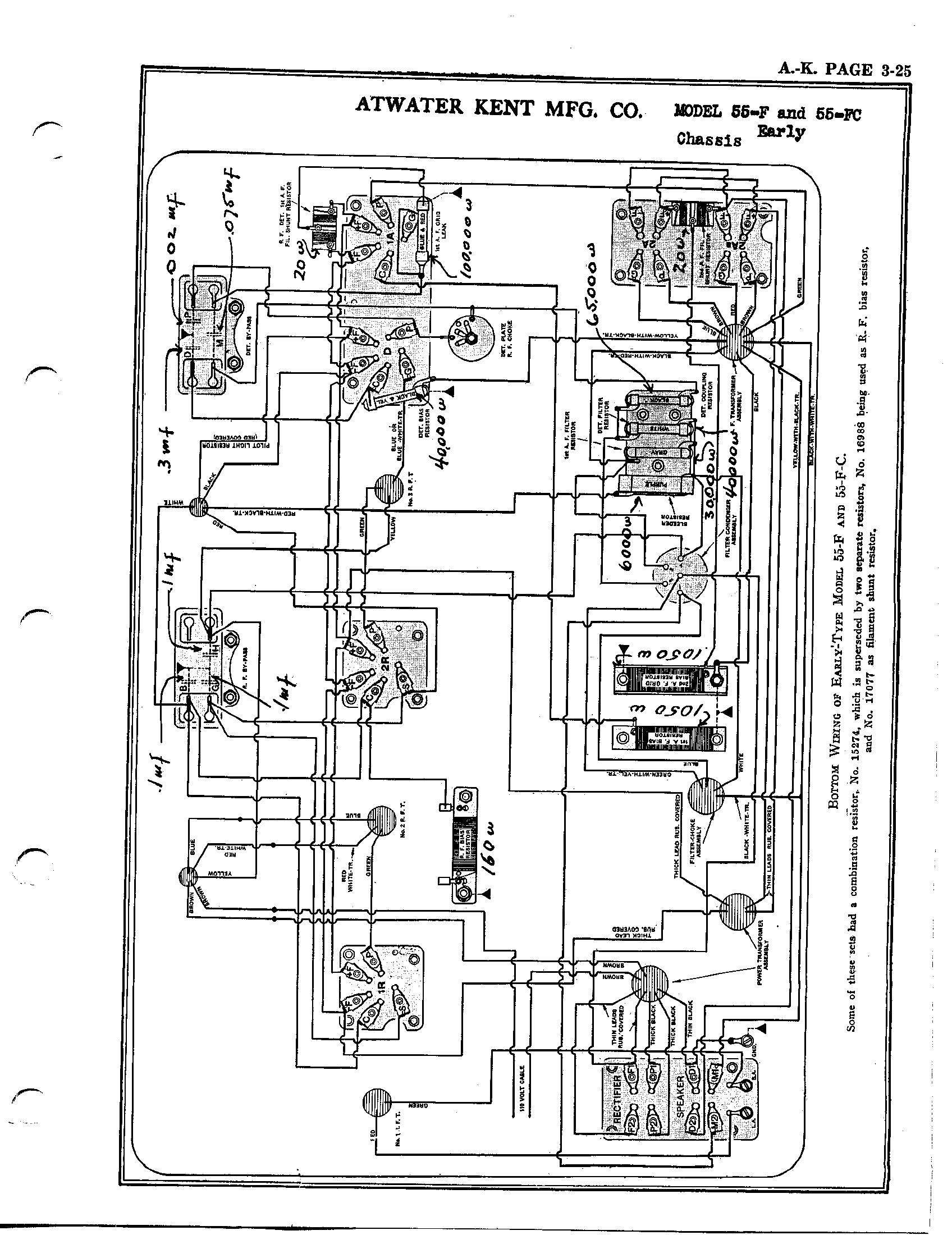 Pleasant Atwater Kent 55C Auto Electrical Wiring Diagram Wiring Cloud Inklaidewilluminateatxorg