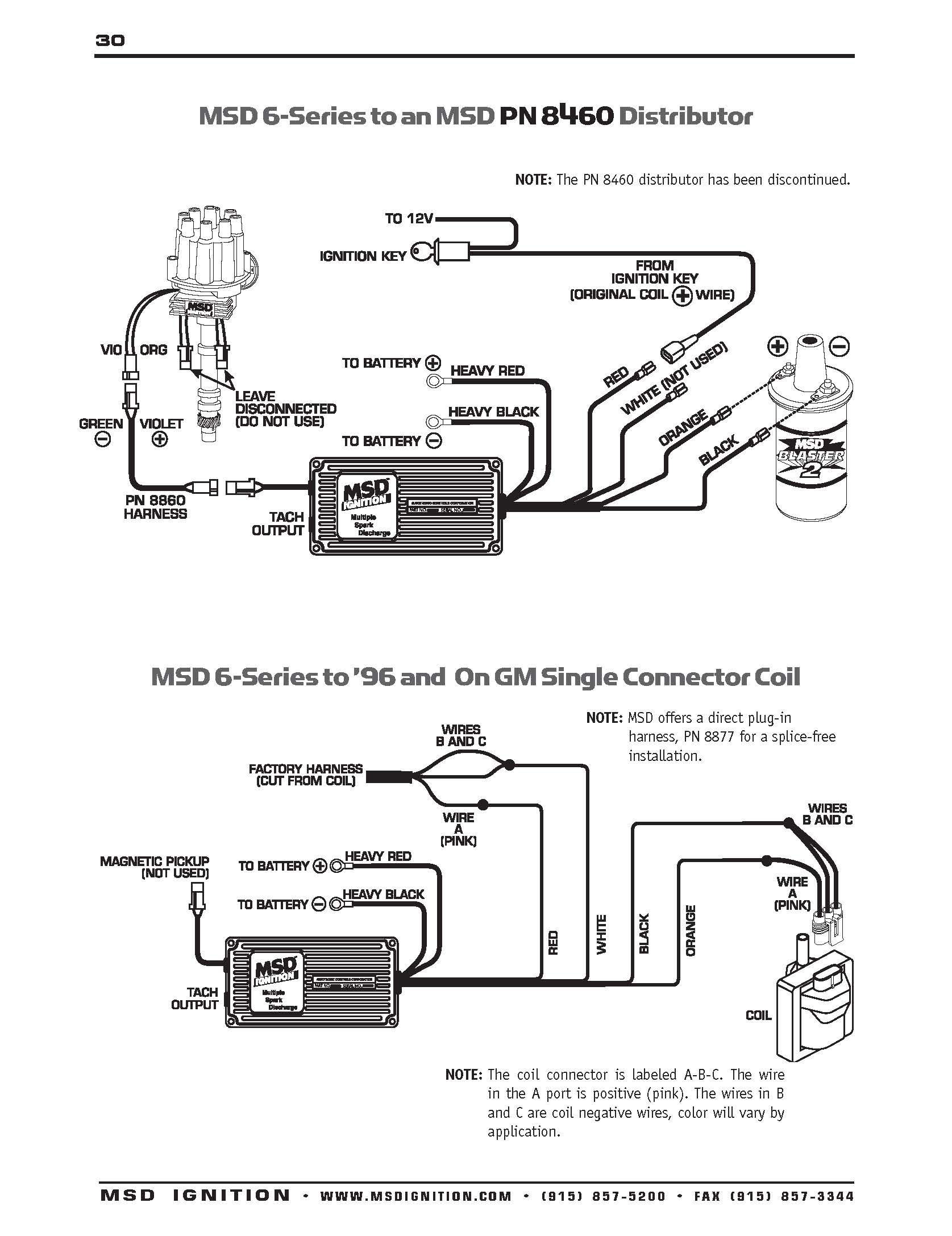 Msd 6btm Ignition Wiring Diagram