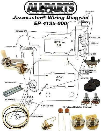 MX_3311] New Wirning Kit Jazzmaster Pots Toggle Switch Jack Diagram Fender  Download DiagramIlari Caci Intap Mohammedshrine Librar Wiring 101
