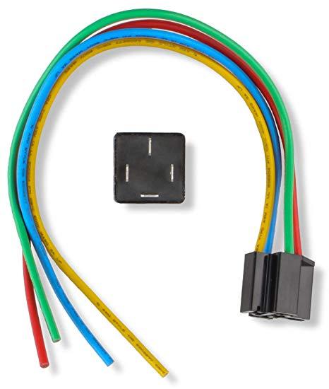 Magnificent Amazon Com Msd 89612 Solid State N O Replay W Socket Harness Wiring Cloud Gufailluminateatxorg