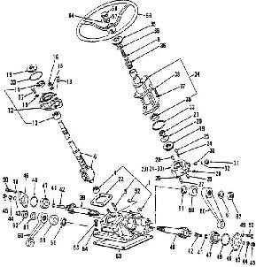 Excellent Ford 3000 Tractor Steering Parts Diagram Wiring Diagram Home Wiring Cloud Intelaidewilluminateatxorg