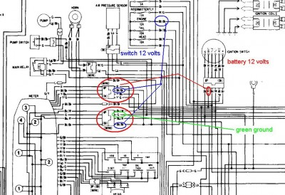 ca_6875] honda goldwing gl1100 wiring diagram and electrical system 8211  harness and schematics free diagram  coun mentra mohammedshrine librar wiring 101