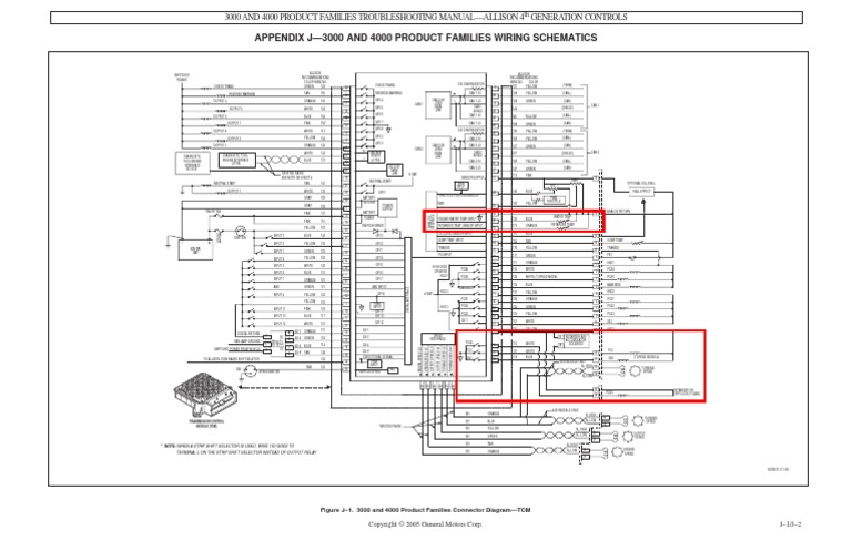 Dw 0872  For Allison 3000 Wiring Schematic Free Diagram