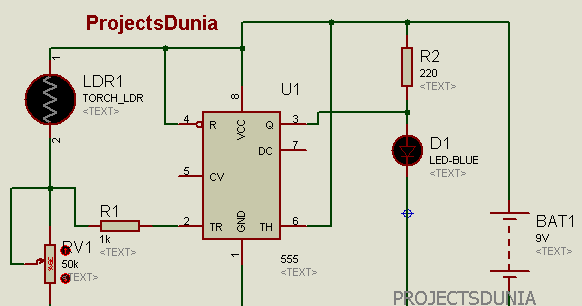 Peachy Automatic Street Light Controller Circuit Using Ldr And 555 Timer Ic Wiring Cloud Staixaidewilluminateatxorg