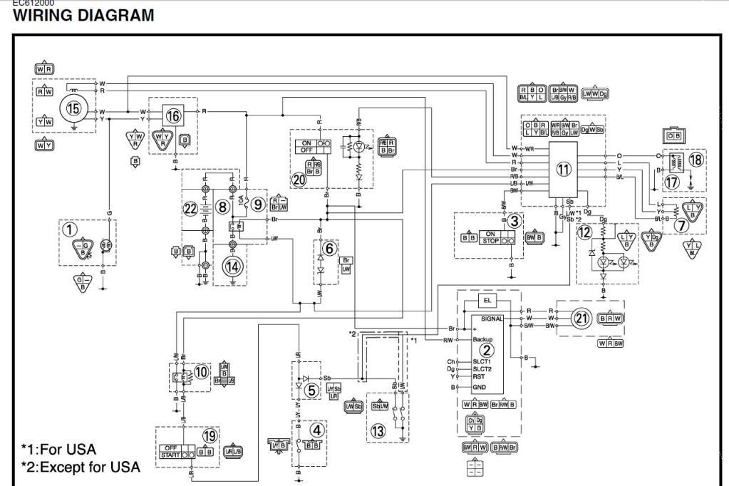 Sensational Yamaha Wr450 Wiring Diagram Basic Electronics Wiring Diagram Wiring Cloud Monangrecoveryedborg
