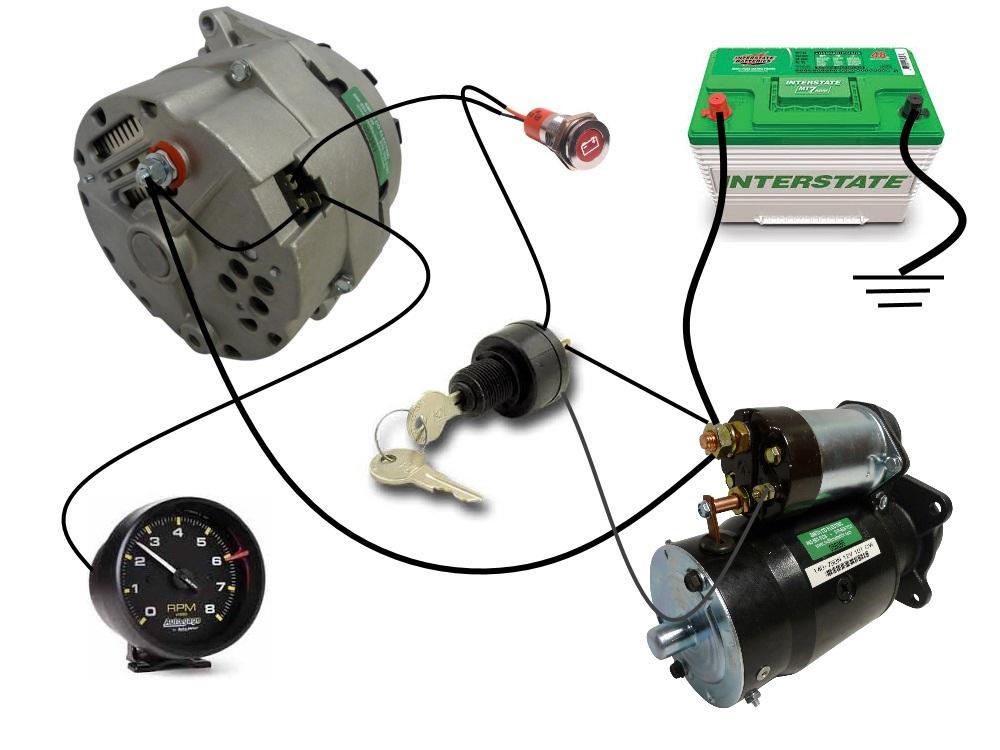 alternator warning light wiring diagram tn 2792  alternators wiring diagram schematic wiring  alternators wiring diagram schematic wiring