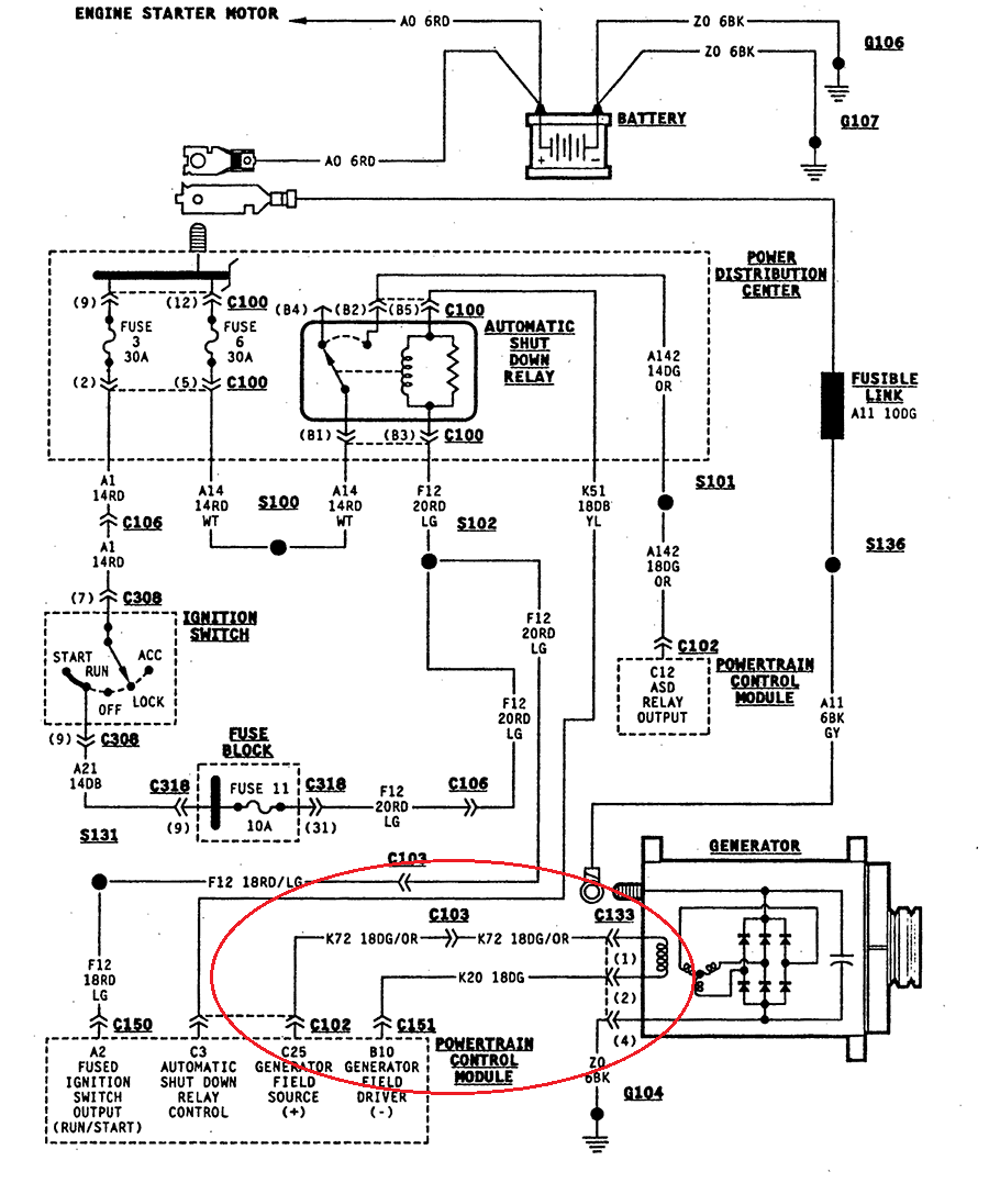 [SCHEMATICS_4US]  From 1990 Jeep Wrangler Alternator Wiring 1972 C10 Wiring Diagram 250 Hp -  siosio-aja.95ri.the-rocks.it | Alternator Wiring Jeep |  | Bege Wiring Diagram Source Full Edition