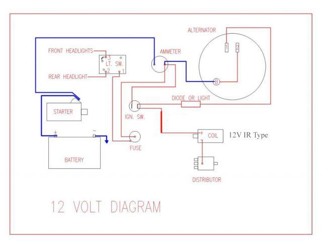 [DHAV_9290]  FX_2695] 12 Volt International Cub Wiring Diagram Free Diagram | International Alternator Wiring Diagram |  | Remca Exxlu Spon Cajos Omit Greas Benkeme Mohammedshrine Librar Wiring 101