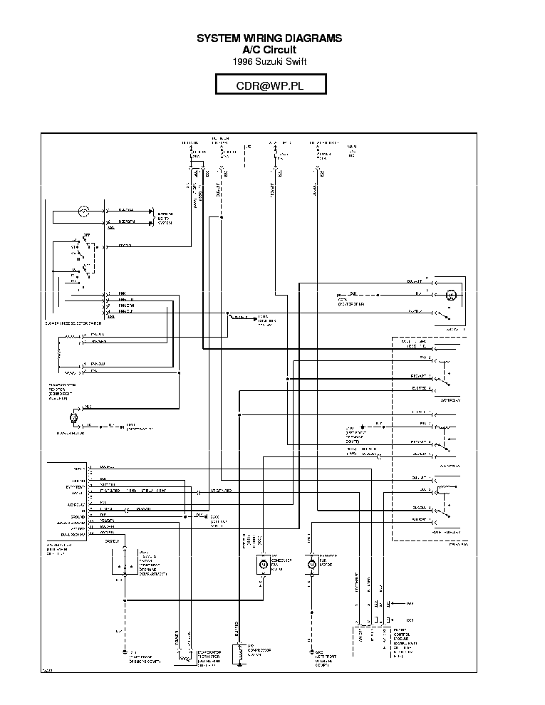 Suzuki Sx4 Headlight Wiring Diagram