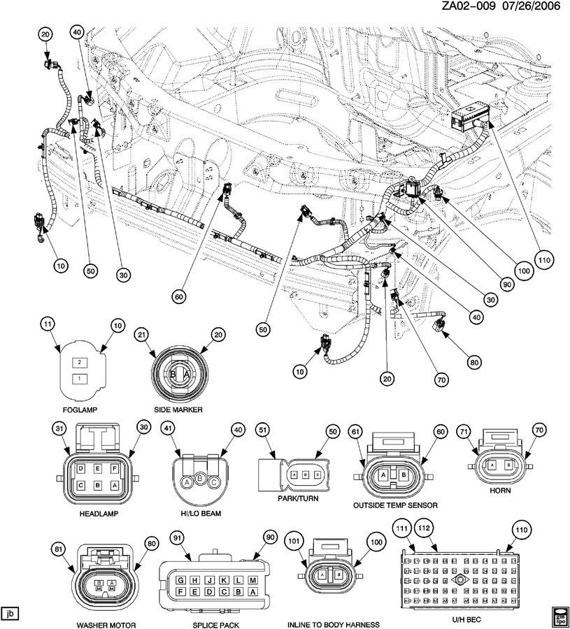 2004 Saturn Ion Headlight Wiring Diagram