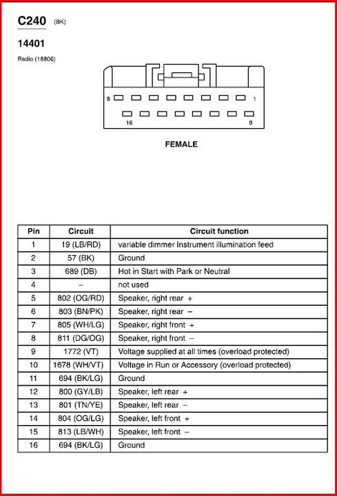 2003 Mercury Grand Marquis Radio Wiring 12 Volt 556 Led Flasher Wiring Diagram Power Poles Nikotin Jeanjaures37 Fr
