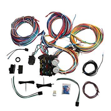 Strange Universal Wiring Harness Kit 12 Circuit Hot Rod Wiring Harness For Wiring Cloud Uslyletkolfr09Org