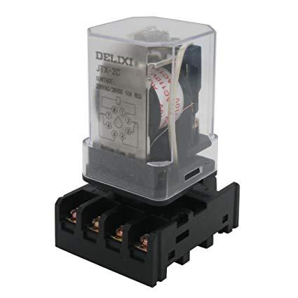 Pleasing Amazon Com Twtade Jtx 2C Mk2P I Dpdt Power Relay With Plug In Wiring Cloud Domeilariaidewilluminateatxorg
