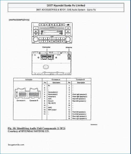 2007 Hyundai Accent Stereo Wiring Diagram