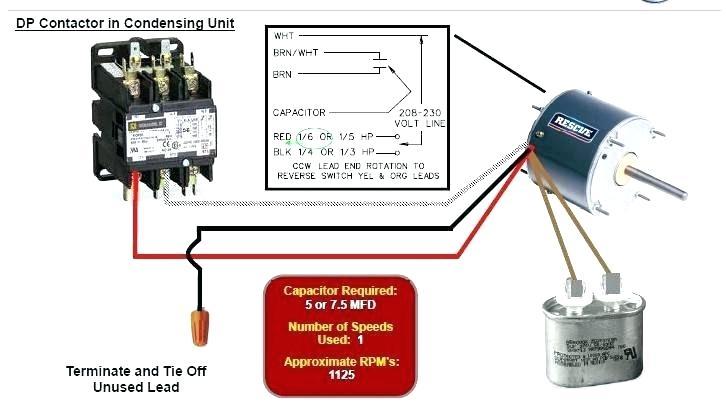 Rescue Condenser Fan Motor Wiring Diagram