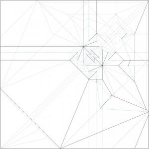Awesome Crease Patterns Robert J Lang Origami Wiring Cloud Inklaidewilluminateatxorg