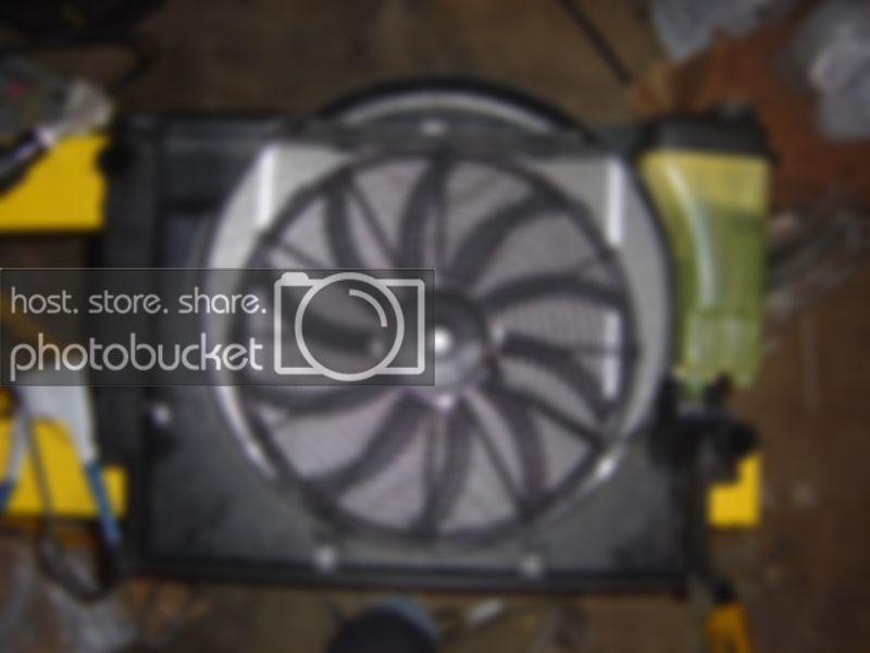 Mahindra Roxor SPAL Electric Radiator Fan Conversion W// Shroud and Wiring Kit