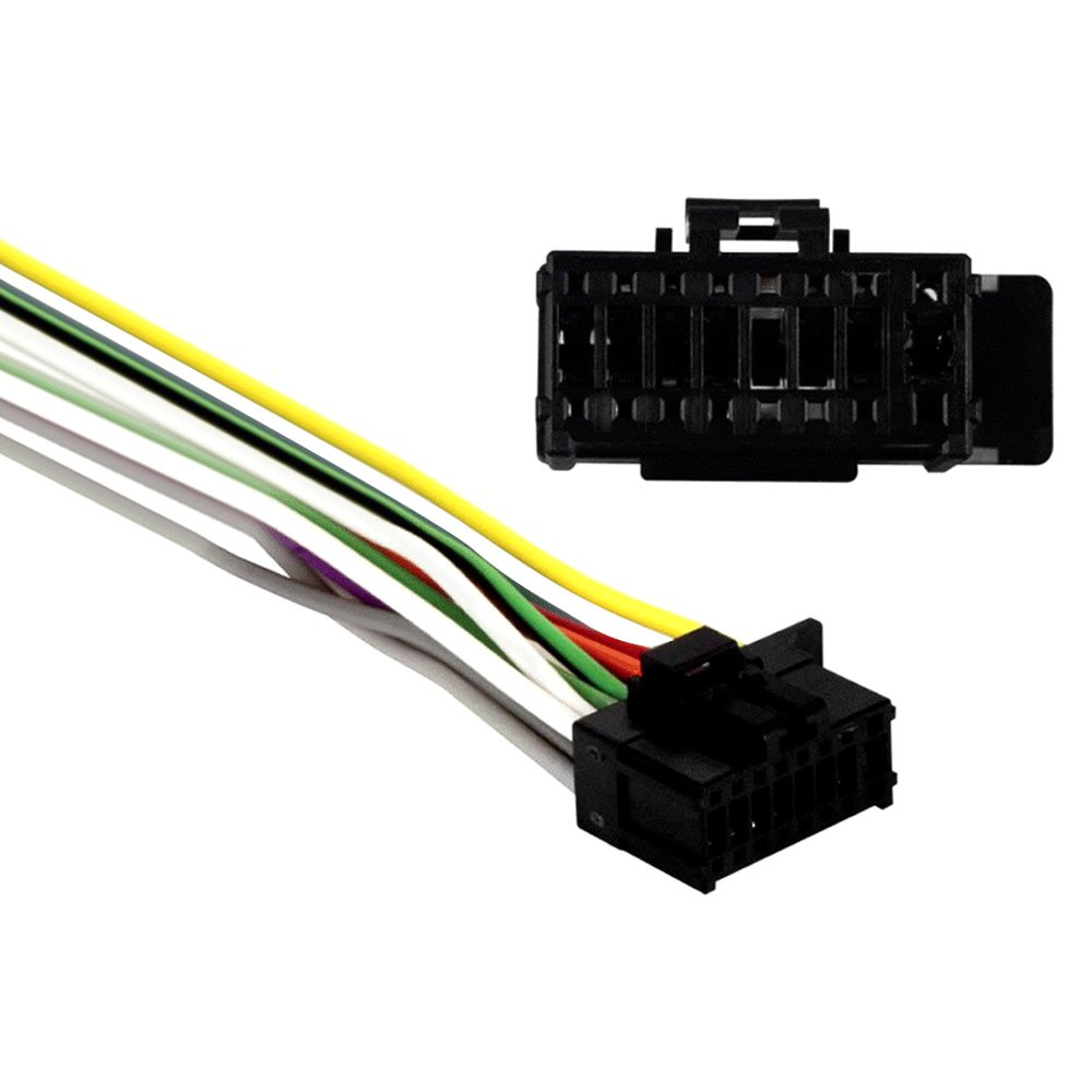 Magnificent Metra Pr04 0001 16 Pin Wiring Harness With Aftermarket Stereo Wiring Cloud Licukshollocom