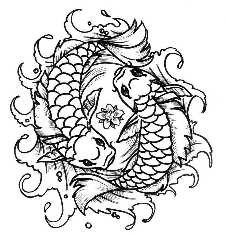 Phenomenal 43 Best Goldfish Tattoo Outline Images On Pinterest Auto Wiring Cloud Uslyletkolfr09Org