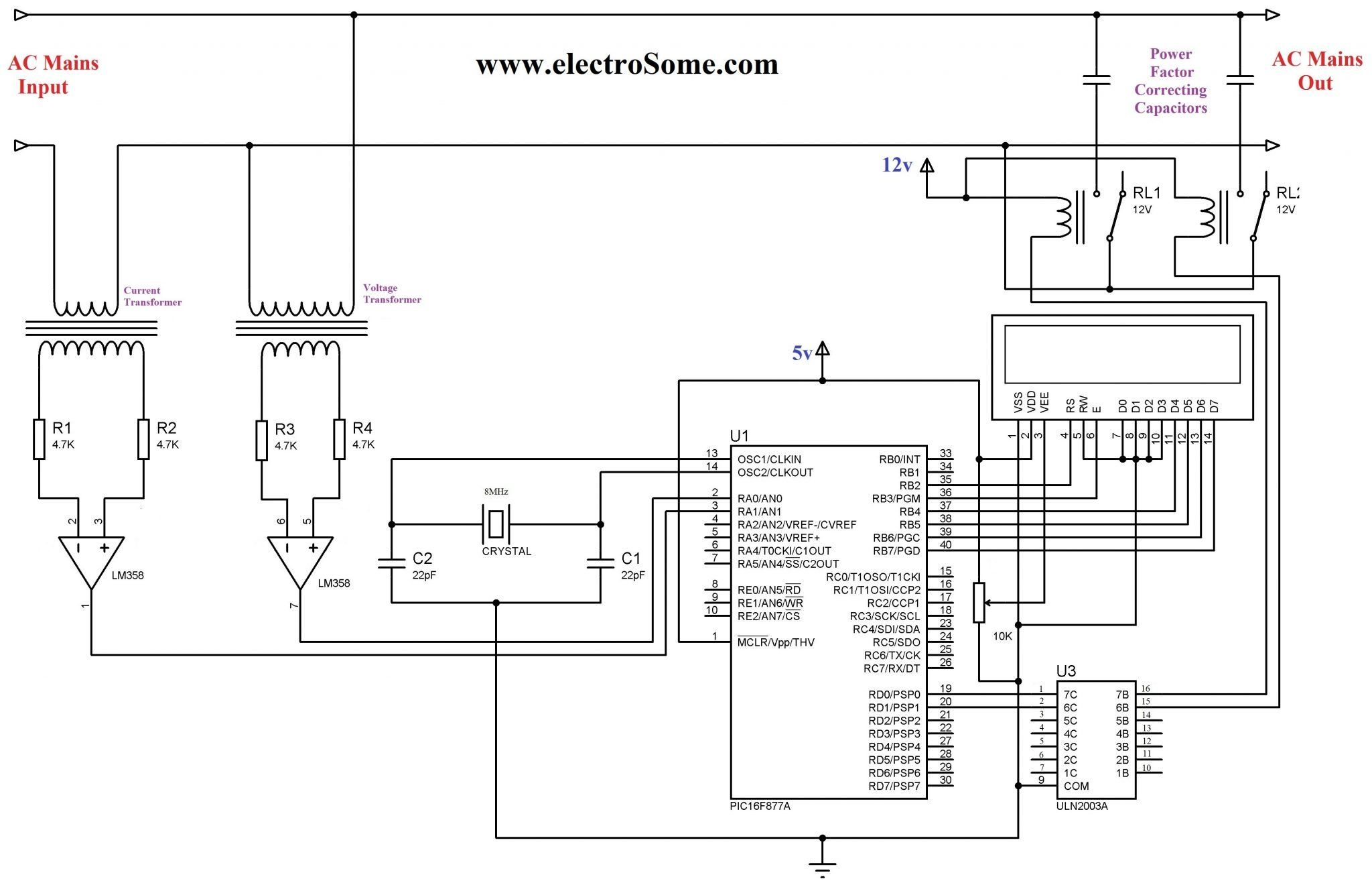 Fantastic Ups Relay Circuit Auto Electrical Wiring Diagram Wiring Cloud Rineaidewilluminateatxorg