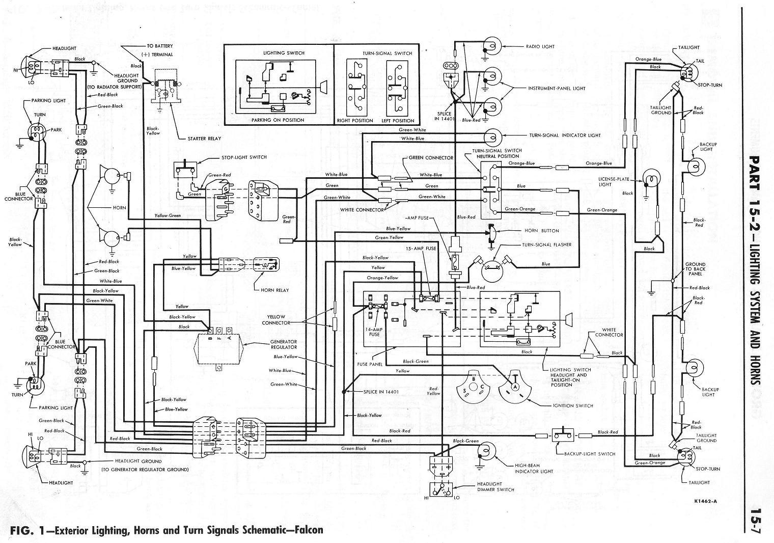 Stupendous 1964 Falcon Wiring Diagram Wiring Diagram Database Wiring Cloud Ostrrenstrafr09Org