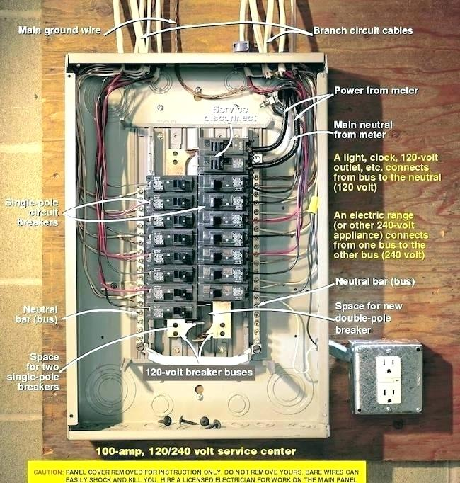 Square D 200 Amp Breaker Box Wiring Diagram Pdf