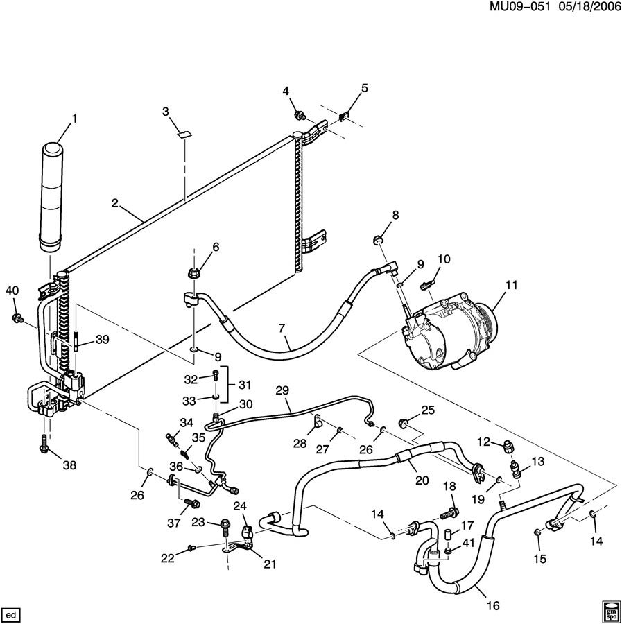 An 2501 2003 Chevy Venture Engine Diagram Schematic Wiring