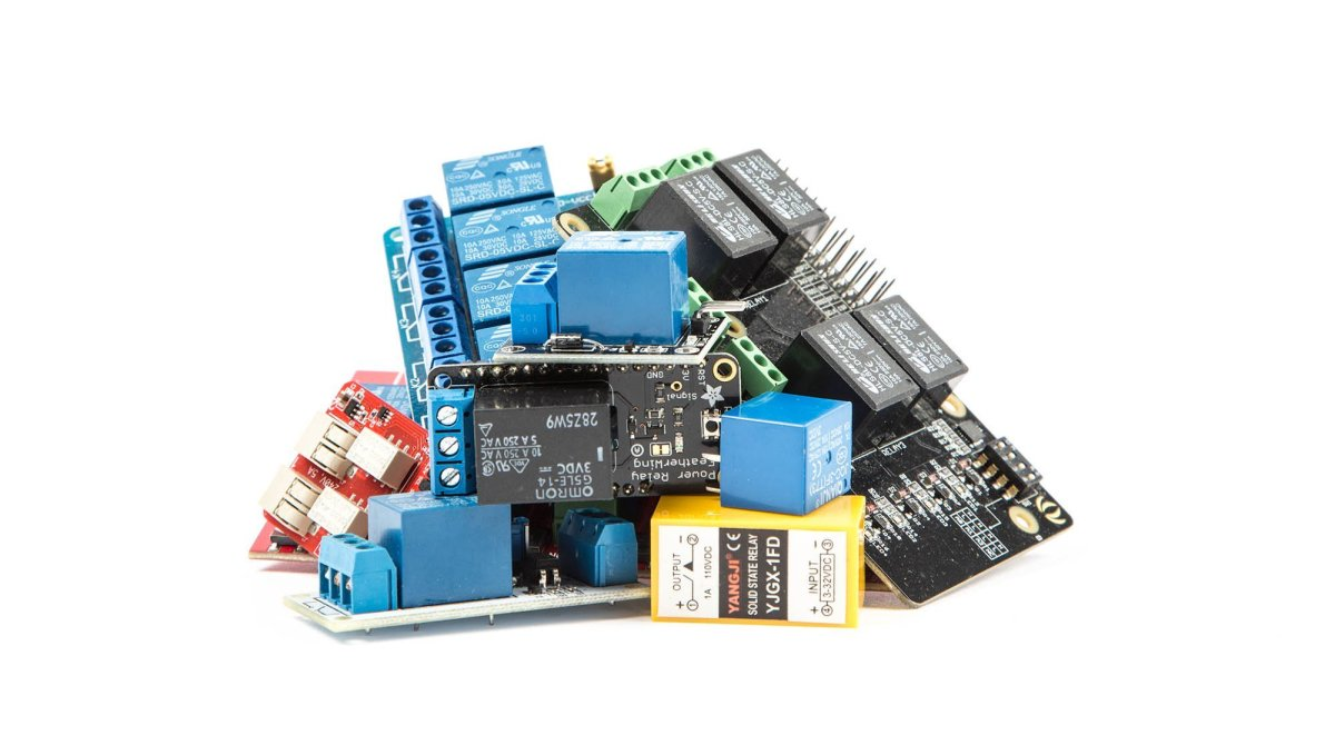 Pleasant 4 Ways To Control Electronic Relays Make Wiring Cloud Ymoonsalvmohammedshrineorg