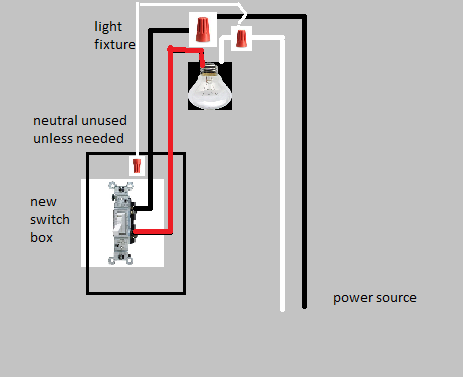 Miraculous Electrical How Do I Connect A Light To A Switch When The Light Wiring Cloud Dulfrecoveryedborg