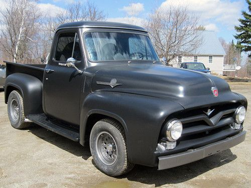Astounding Find New 1955 Ford F100 Truck Hot Rod Rat Rod In Irasburg Vermont Wiring Cloud Overrenstrafr09Org