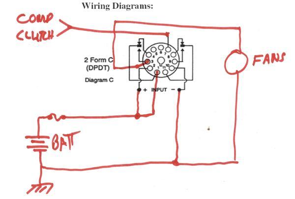 Relay 11 Pin Wiring Diagram