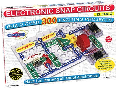 Wondrous Amazon Com Snap Circuits Classic Sc 300 Electronics Exploration Kit Wiring Cloud Rineaidewilluminateatxorg