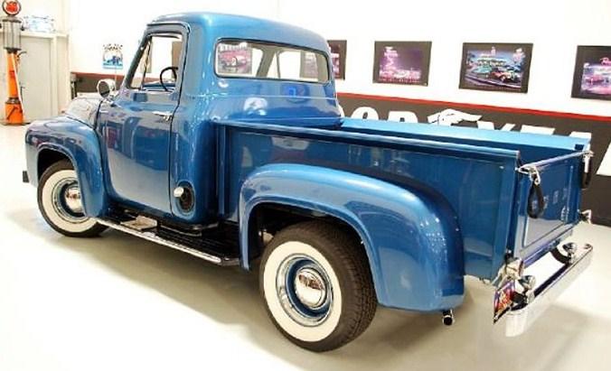 Peachy 1955 Ford F100 Custom Pickup Classiccars Com Journal Wiring Cloud Timewinrebemohammedshrineorg