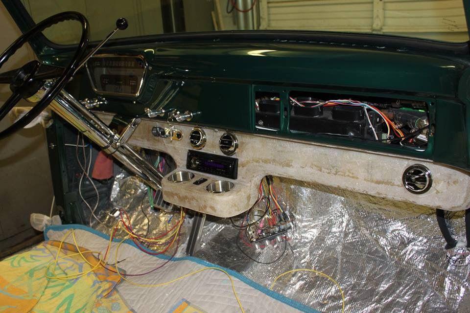 1956 ford dash wiring diagram te 5675  1955 ford f100 dash schematic wiring  te 5675  1955 ford f100 dash schematic
