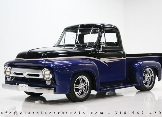 Amazing 1955 Ford F100 Pickup Truck Classic Car Studio Wiring Cloud Hisonepsysticxongrecoveryedborg
