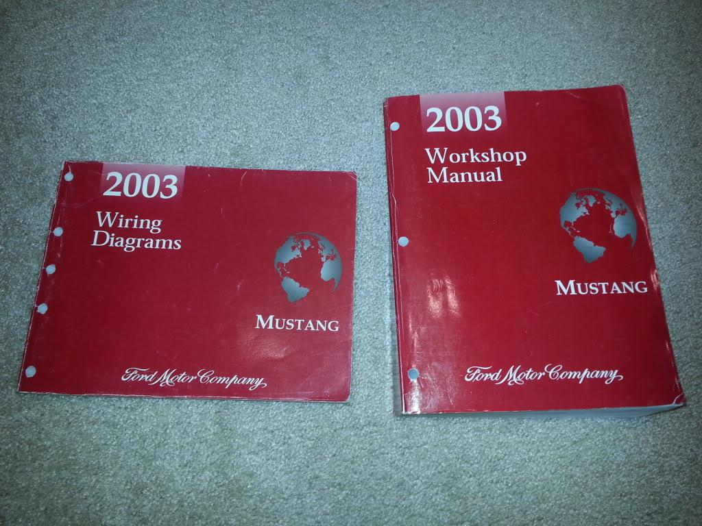 Pleasant 2003 Mustang Service And Wiring Diagram Manuals Svtperformance Com Wiring Cloud Faunaidewilluminateatxorg