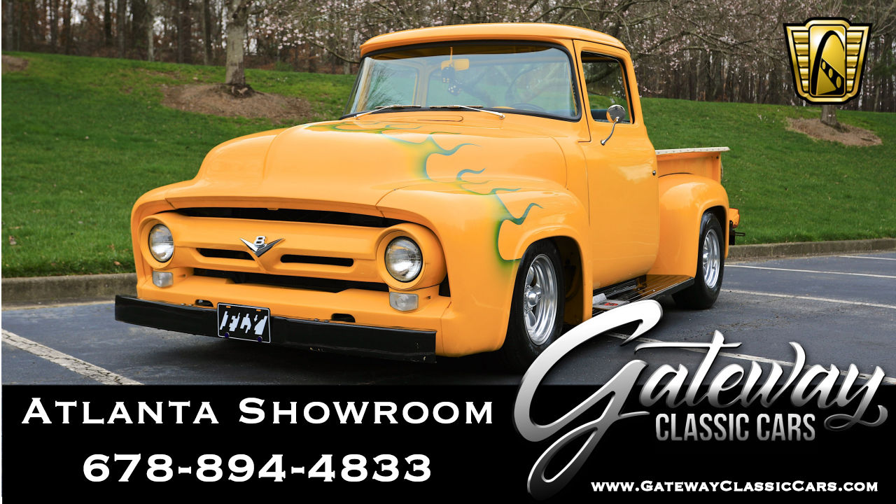 Incredible 1956 Ford F100 Gateway Classic Cars 1039 Atl Wiring Cloud Hisonepsysticxongrecoveryedborg