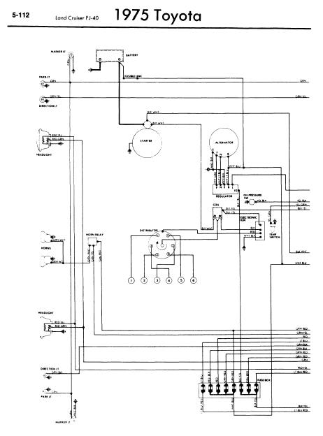 Gz 1341 1975 Toyota Land Cruiser Wiring Diagram Wiring Diagram