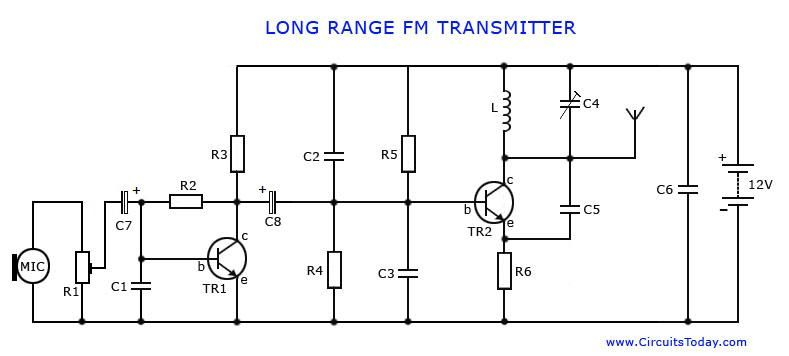 Brilliant How To Make A Long Range Fm Transmitter At Low Cost Electronics In Wiring Cloud Hemtshollocom