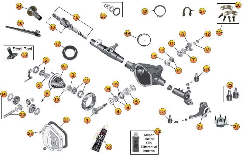 Xt 5186  Dana 44 Front Axle Diagram Wiring Diagram